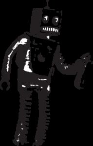 Heaton Press Robot vector