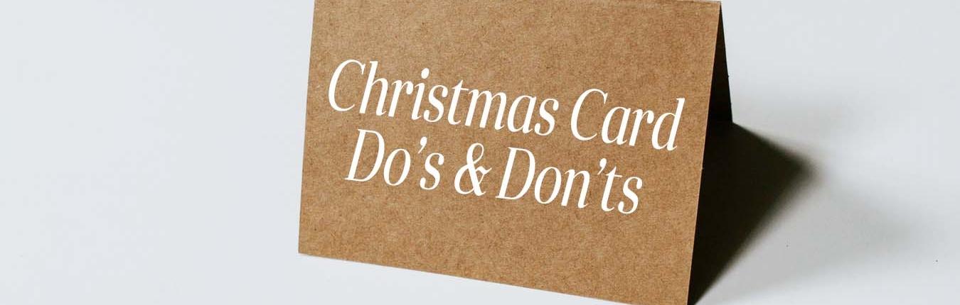 Christmas Card fails